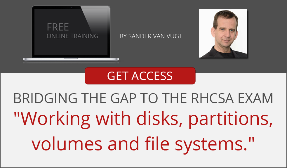 Learn working with disks, partitions, volumes and file systems