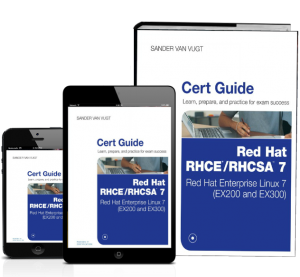 Red Hat RHCSA/RHCE 7 Cert Guide book and ebook