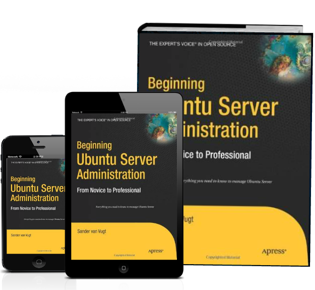 Book beginning Ubuntu server administration