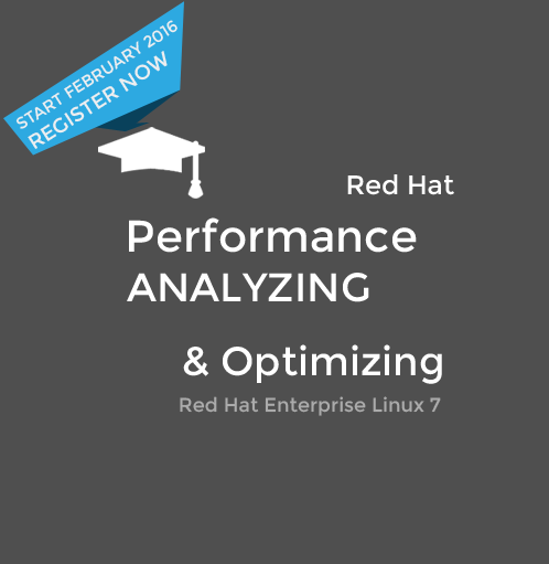 Analyzing and Optimizing Performance on Red Hat® Enterprise Linux 7