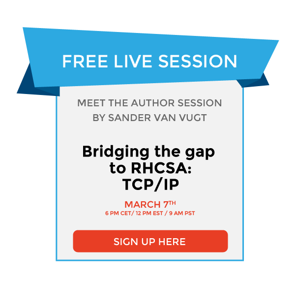 Bridging the gap, Upgrade your skills to RHCSA: TCP/IP
