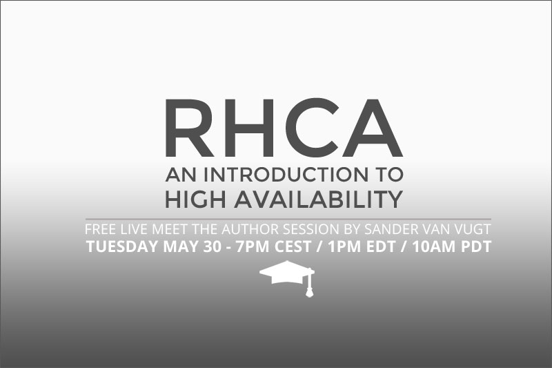 Live Session: An introduction to High Availability (RHCA)