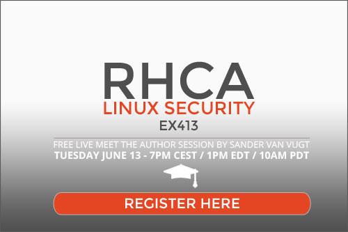 RHCA Linux Security sign up
