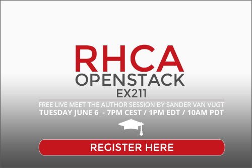 RHCA OpenStack session sign up
