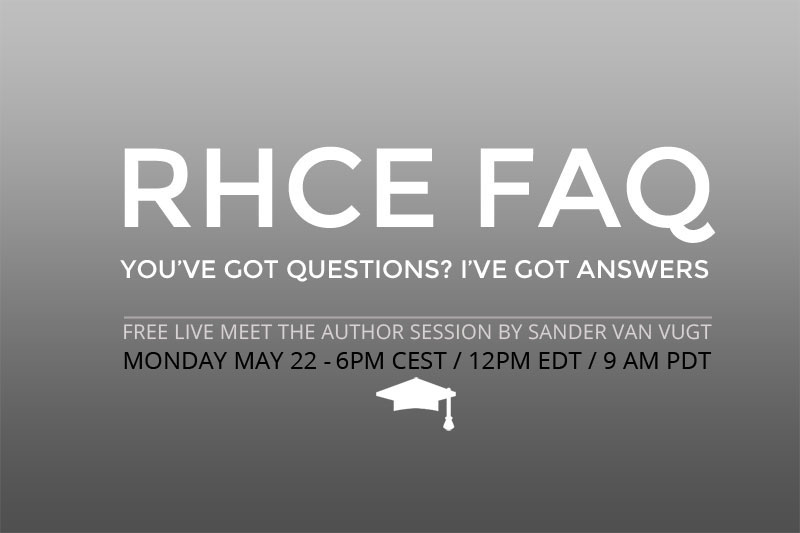 Live Session: RHCE FAQ
