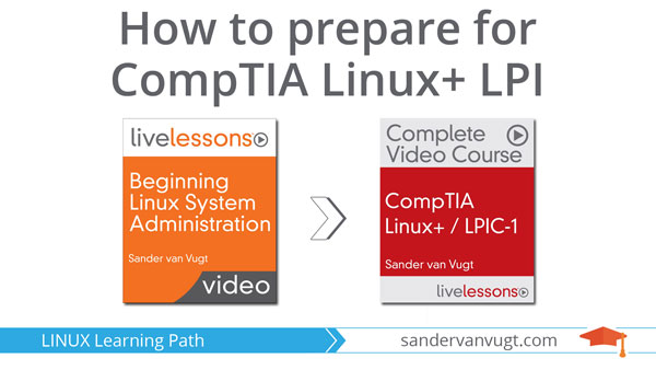 CompTIA Linux+ LPI Learning Path