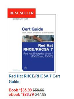 Cert Guide RHCE / RHCSA 7