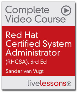 RHCSA video course RHEL8