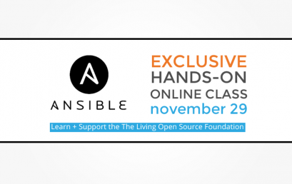 Exclusive hands-on Ansible Class on November 29th