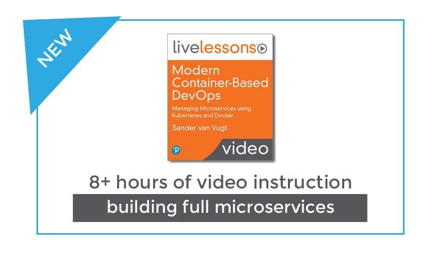 New Video Course about Modern Container-Based DevOps